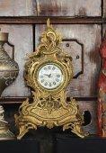 Starožitné zlaté hodiny