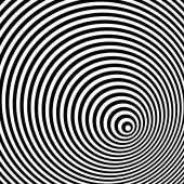Černá a bílá optická iluze