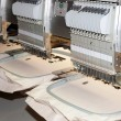 Постер, плакат: Textile Professional and industrial embroidery machine