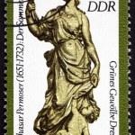 Постер, плакат: Postage stamp Germany 1984 Summer by Balthasar Permoser
