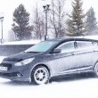 Постер, плакат: Car Hyundai Solaris