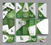Golf-Club-Briefpapier