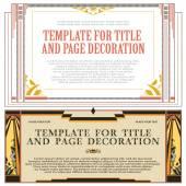 Vektorové prvky pro návrh reklamy, svatba a gr
