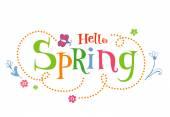 Jarní nápis