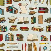 Hand gezeichnete Illustrationen der Bücher