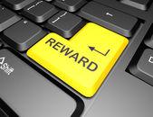 Keyboard with reward button