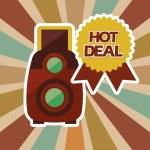 Постер, плакат: Hot deal design