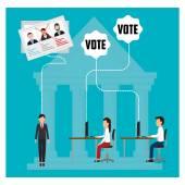Politik a hlasování kampaň