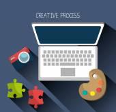 Tvůrčí proces grafický design je