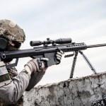 Постер, плакат: U S Army sniper