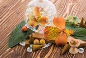 Aromaterapii věci na dřevo