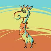 Zábavná žirafa