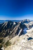 Blick vom Lomnicky Peak, Vysoke Tatry
