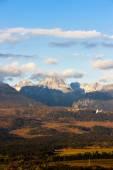 Berg Krivan und westlichen Teil der hohen Tatra