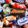 Постер, плакат: Heap of Mars Snickers Milky Way Galaxy Bounty and Maltesers