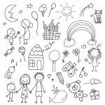 Постер, плакат: Children Drawings