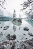 Hintersee lake landscape