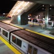 ������, ������: BART Train Parked at BART Millbrae Station