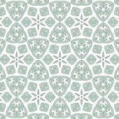 Christmas decorative pattern of blue snowflakes various figures