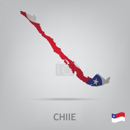 Постер, плакат: Country chile, холст на подрамнике