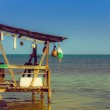 Постер, плакат: Dock caye caulker belize