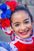 Előadók a színes és bonyolult viseletek részt Colombias legfontosabb folklór ünnep, a farsangi Barranquilla, Kolumbia