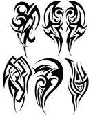 Satz von Stammes-Tätowierungen