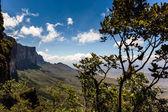 Pohled z náhorní plošiny Roraima na Gran Sabana regionu - Venezuela, Jižní Amerika