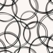 Vector Abstract Seamless Circles Background