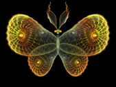 Shining Butterfly background