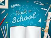 Zurück zu Schule Hintergrund. EPS 10