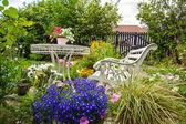Zahrada, romantika, idyla, jaro