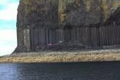 Staffa, a belső-Hebridák, Argyll és a BME, Skóciában szigete