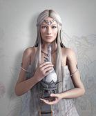 Elf queen with elixir