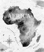 Ink Africa map