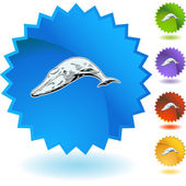 Whale web  button