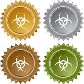 Biohazard web icon