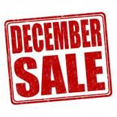 Prosinec prodej razítka