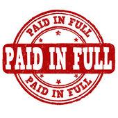 Eingezahlte volle Marke