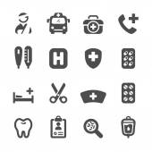 Medical icon set 3 vector eps10