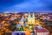 Savannah, Georgia, USA Cityscape