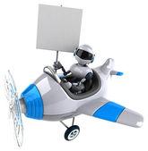 Fun  cartoon robot