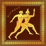 Постер, плакат: Ancient Greek ornament