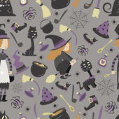Halloween pattern 02 in editable vector file