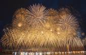 Festlichen Feuerwerk
