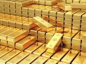 A Bank boltozat arany rúd