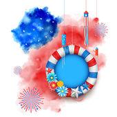 čtvrtého července šťastný den nezávislosti Ameriky