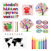 Množina vektorových modelů pro školy