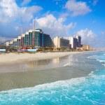 Постер, плакат: Daytona Beach in Florida coastline USA
