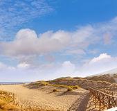 Mallorca Cala Mesquida pláž v Mallorca Baleárských